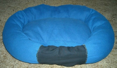 DIY Dog Sweatshirt Bed Craft