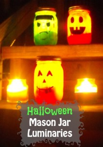 DIY Halloween Mason Jar Craft