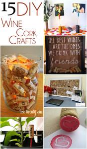 15 DIY Wine Cork Crafts