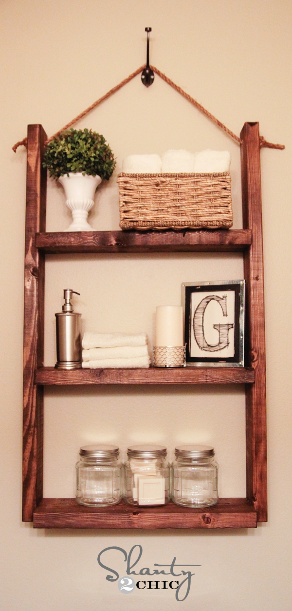 20 easy diy shelves for the house the craftiest couple for Easy diy shelves