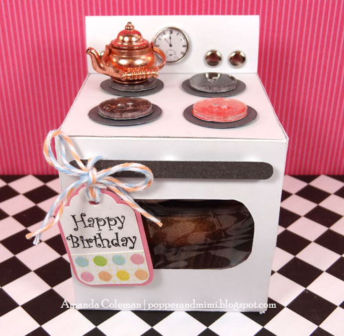 DIY Oven Cupcake Box Kettle Craft