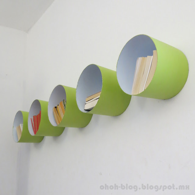 DIY Paint Bucket Shelf - Top 15 DIY Paint Bucket Shelf http://thecraftiestcouple.com