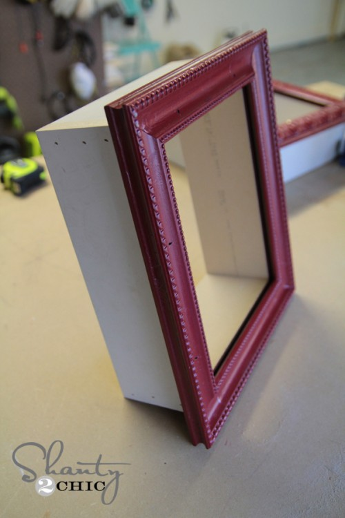 DIY Picture Frame Shelf - Top 15 Easy DIY Shelves http://thecraftiestcouple.com