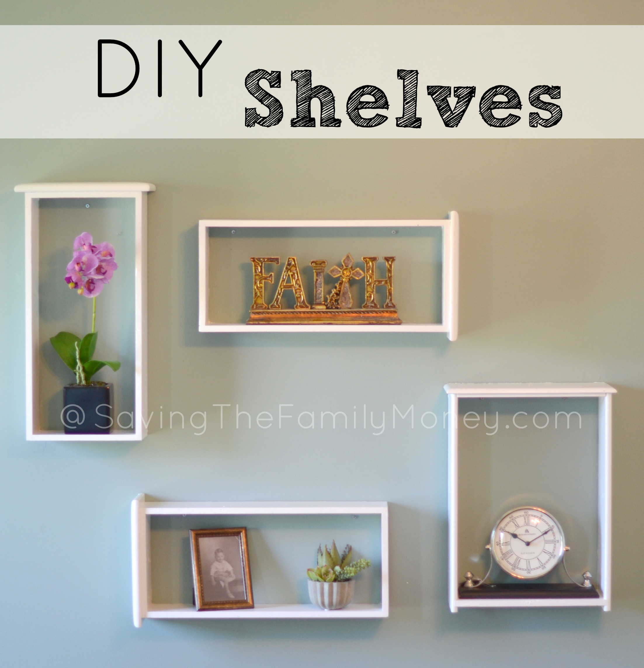 20 Easy Diy Shelves For The House The Craftiest Couple