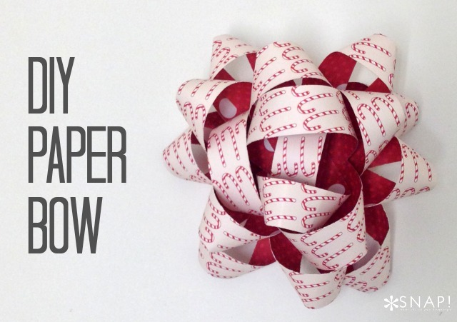 DIY Paper Bow Craft - 15 DIY Paper Bow Craft Ideas