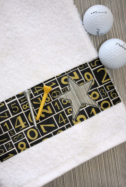 DIY Golf Towel