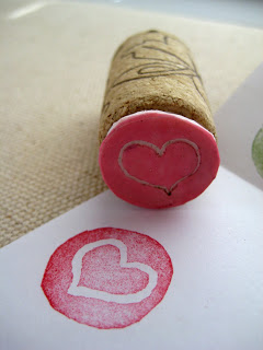 DIY Wine Cork Stamp