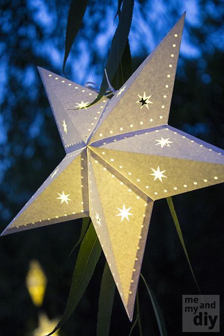 DIY Paper Star Lantern Craft