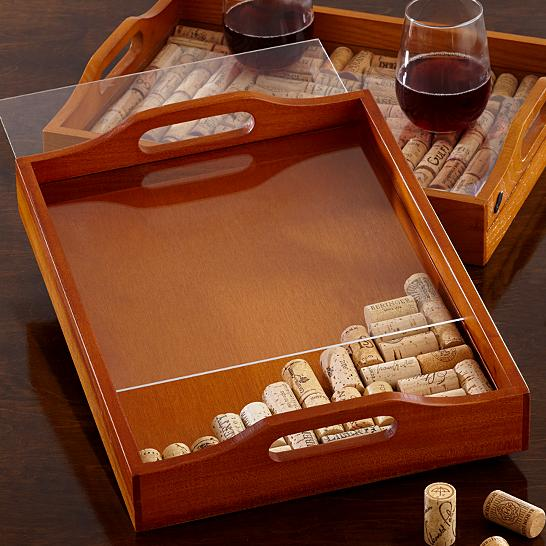 DIY Wine Cork Tray