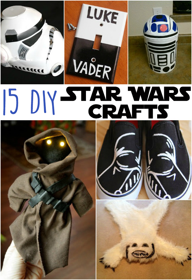 15 DIY Awesome Star Wars Crafts