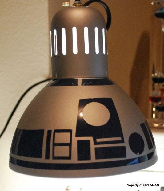 Diy R2d2 Lamp Craft The Craftiest Couple