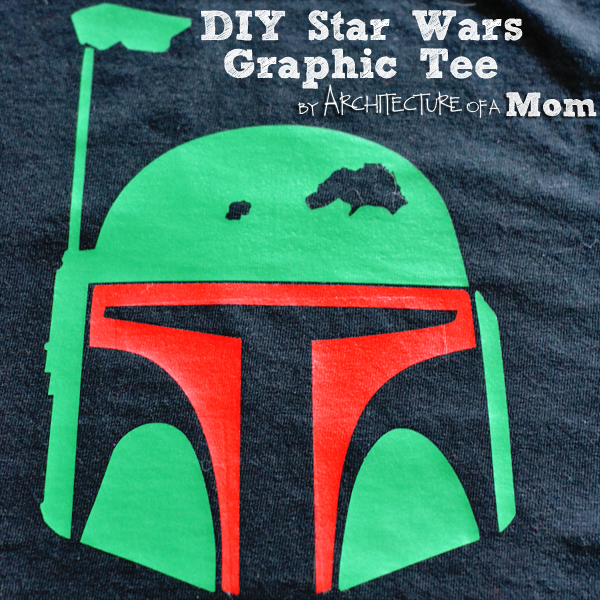 DIY Star Wars Graphic Tee Craft