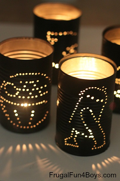 DIY Star Wars Lantern Craft
