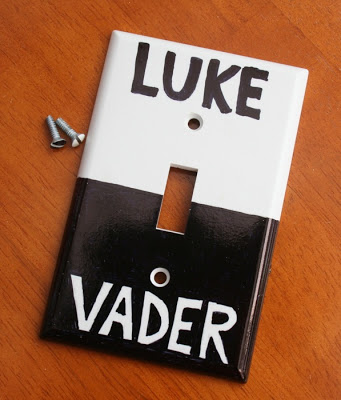 DIY Star Wars Light Switch Craft