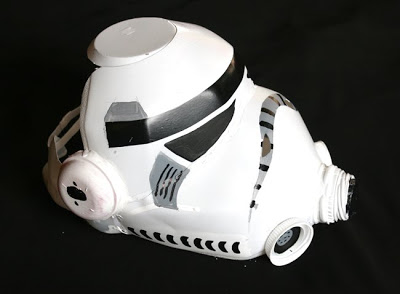 DIY Star Wars Storm Trooper Helmet Craft