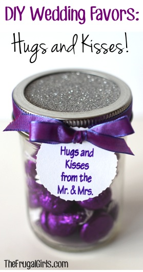 Hersheys Kisses Wedding Favor Craft