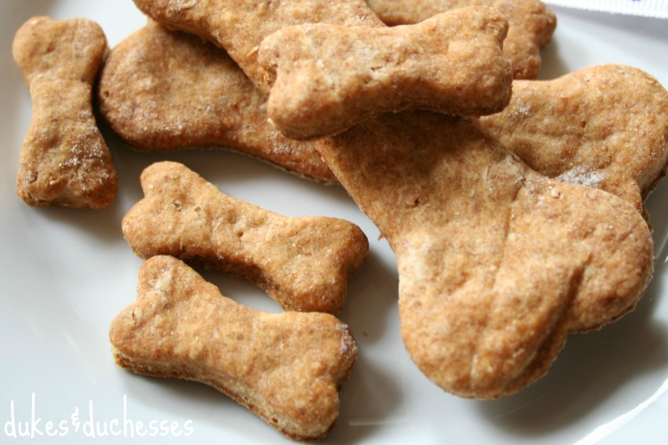 Homemade Bacon Flavored Dog Treats