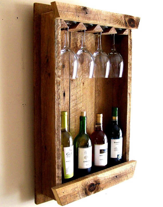 barnwood wine rack 15 amazing diy wine rack ideas the craftiest 1489