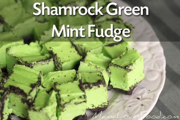 Shamrock Saint Patrick's Day Fudge