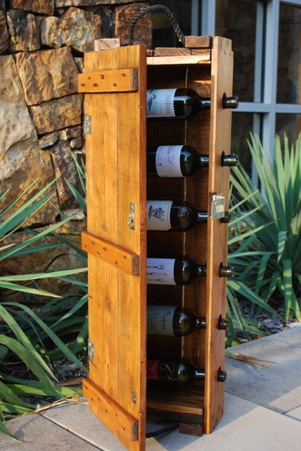 Vintage Ammunition Box Wine Rack
