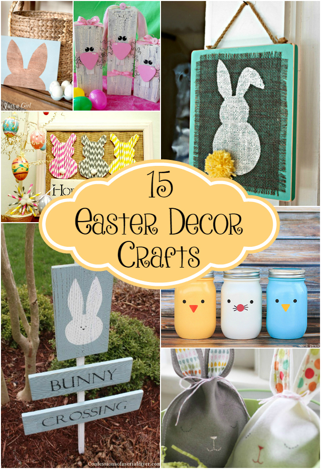 15 easter decor crafts the craftiest couple