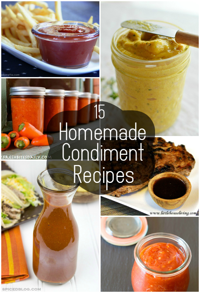 15 Homemade Condiment Recipes