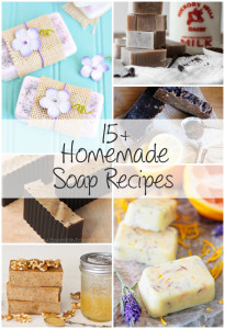 15+ Lovely Homemade Soap Recipes