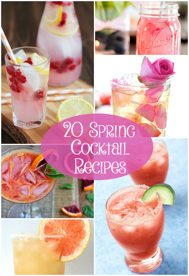 20 Spring Cocktail Recipes