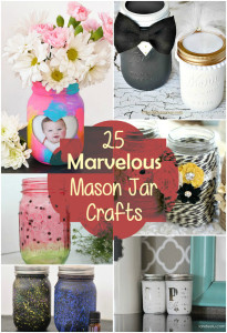 25 Marvelous Mason Jar Crafts