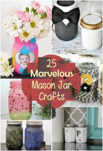 25 Marvelous Mason Jar Crafts