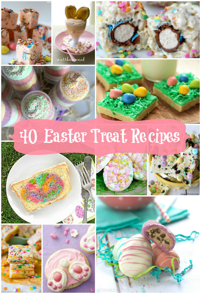 40 Scrumptious Easter Treat Recipes