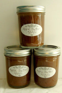 Apple Butter Jam Recipe