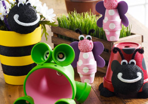 DIY Clay Pot Critters