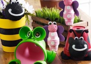 DIY Clay Pot Critters