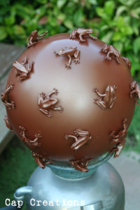 Copper Frog Ball