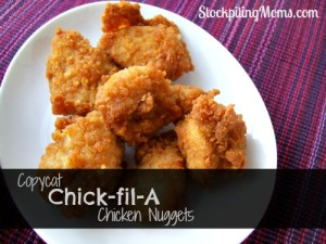 Copycat Chick-fil-a Chicken Nuggets
