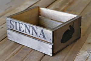 DIY Rustic Bunny Crate
