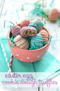 Easter Egg Cookie Dough Truffles Recipe