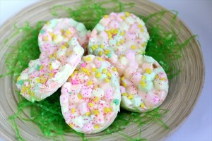 Easter Marshmallow Bark