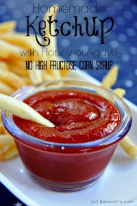 Homemade Ketchup with Agave
