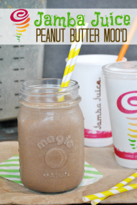 Jamba Juice Peanut Butter Mood Recipe