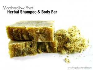 Marshmallow Root Herbal Soap Recipe