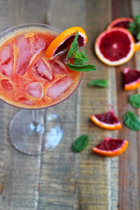 No Stress Blood Orange Spritzer