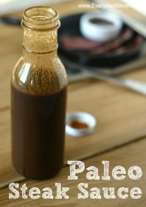 Paleo Steak Sauce