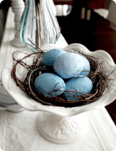 Paper Mache Easter Eggs Craft