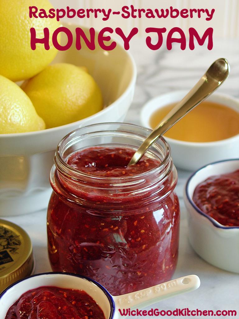 raspberry vanilla quick jam strawberry raspberry vanilla quick jam