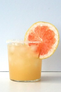 Sweet-and-Salty Grapefruit Gimlet