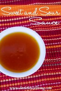 Sweet n Sour Sauce Recipe