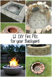 12 DIY Fire Pits for your Backyard