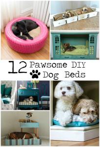 12 Pawsome DIY Dog Beds